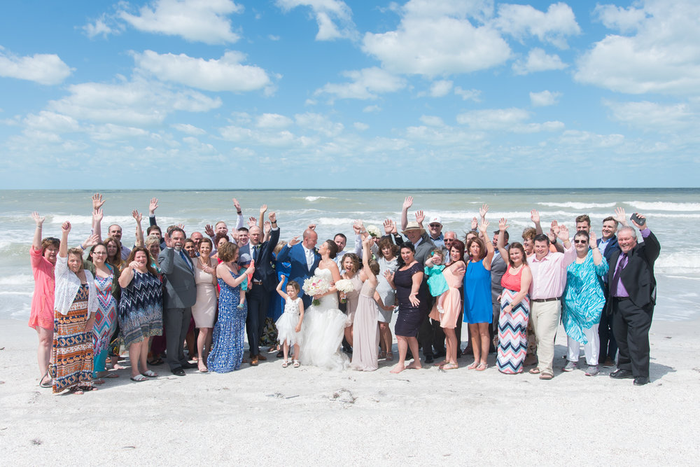 st-pete-beach-wedding-family, tampa-wedding-photographer