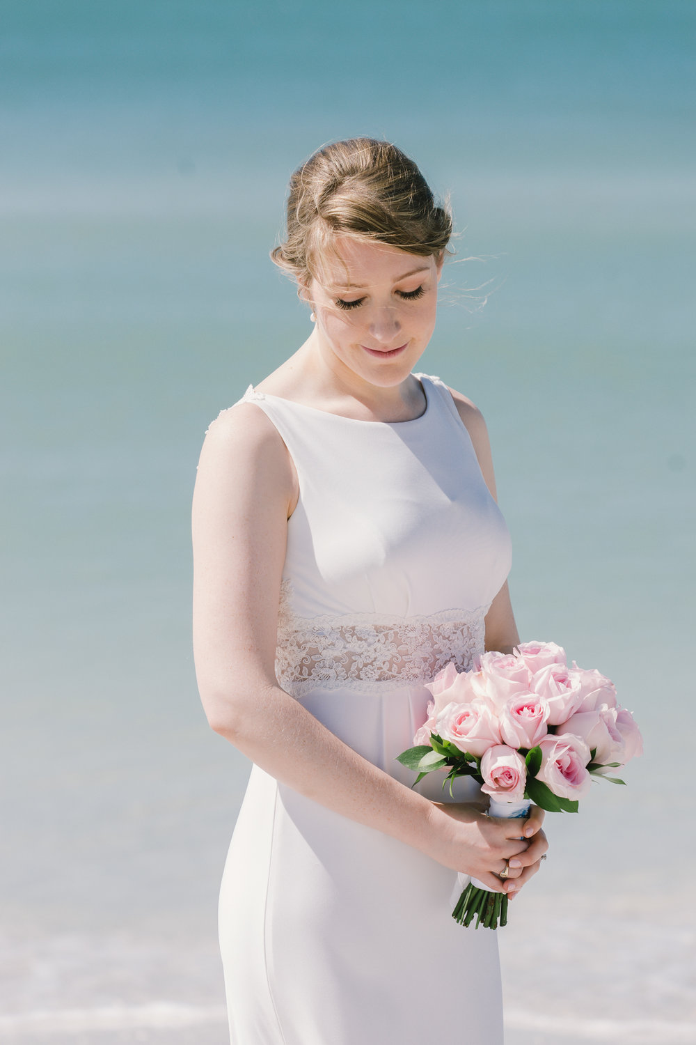 Tampa-wedding-photography, beach-wedding-bride-photo