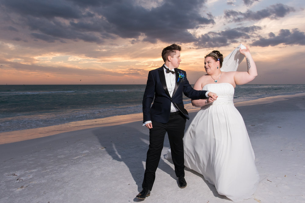 Siesta-key-beach-wedding-photo, gay-beach-wedding