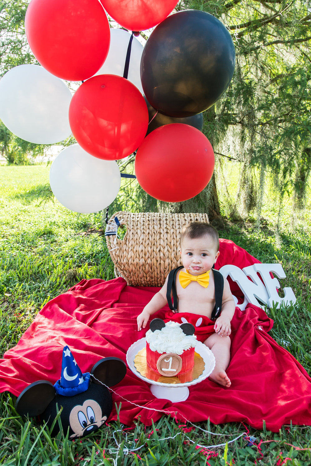 Tampa-baby-photographer, Tampa-smash-cake-session