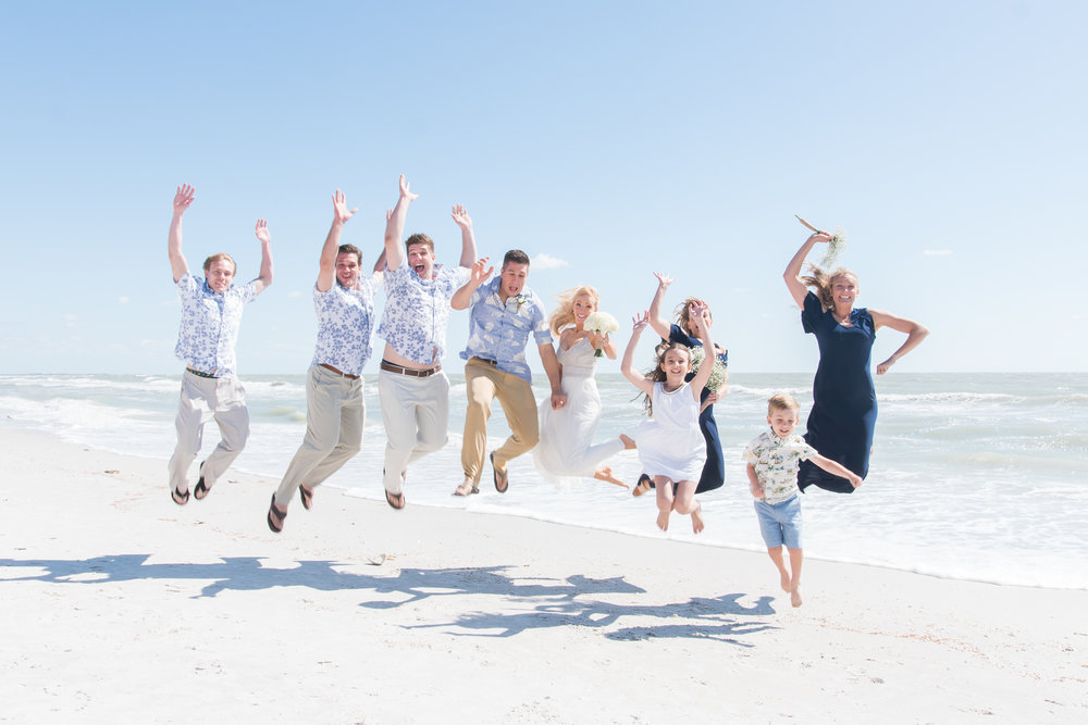 beach-wedding-fun-photo, St.Pete-wedding-photographer