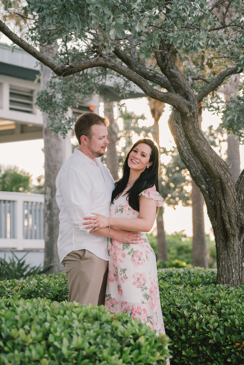 sunset-engagement-session, tampa-wedding-photographer