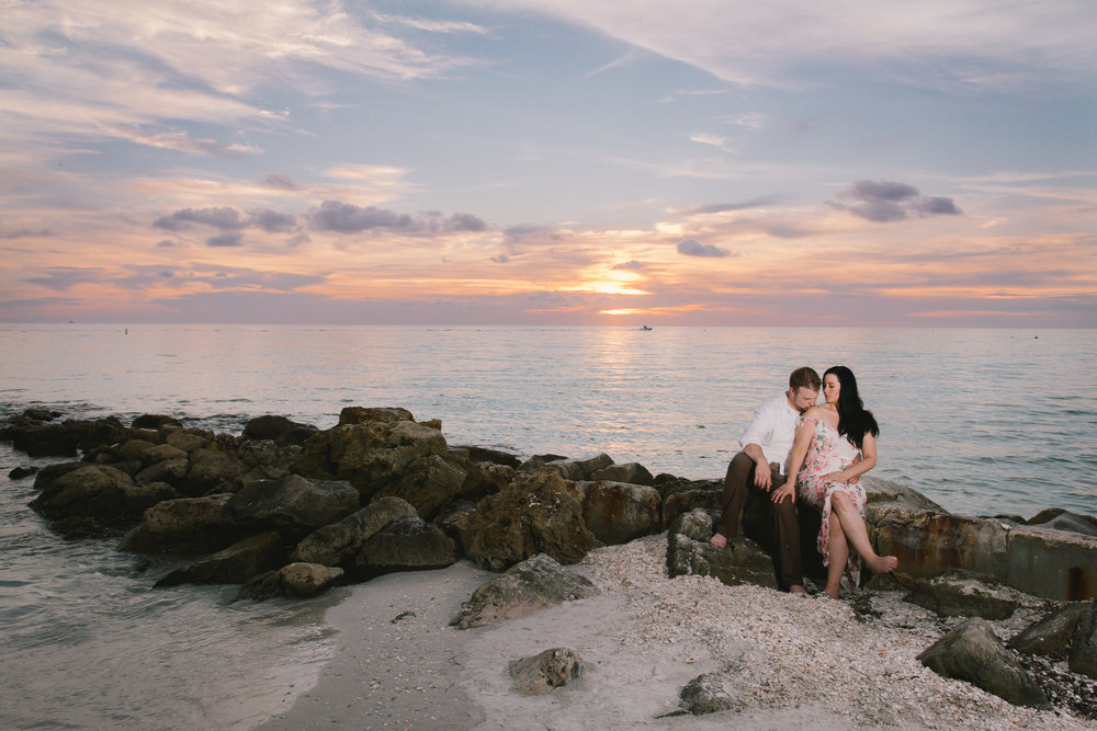 florida-rocky-shore-photoshoot, tampa-wedding-photographer