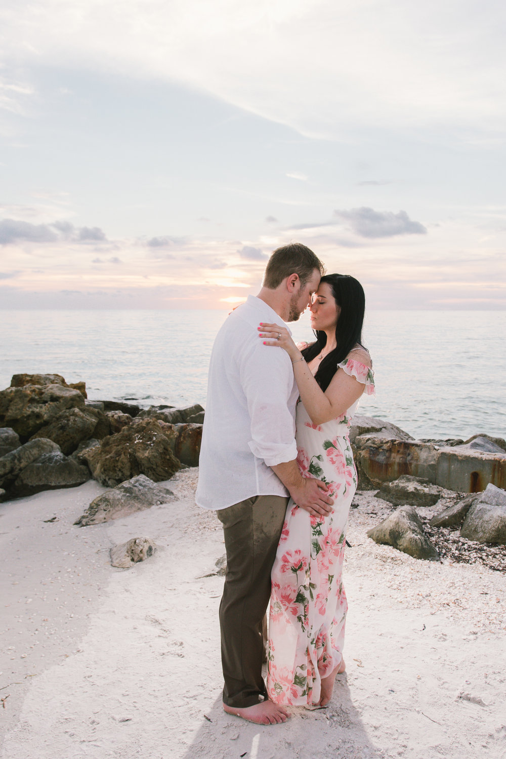 florida-rocky-beach-engagement-session, tampa-wedding-photographer