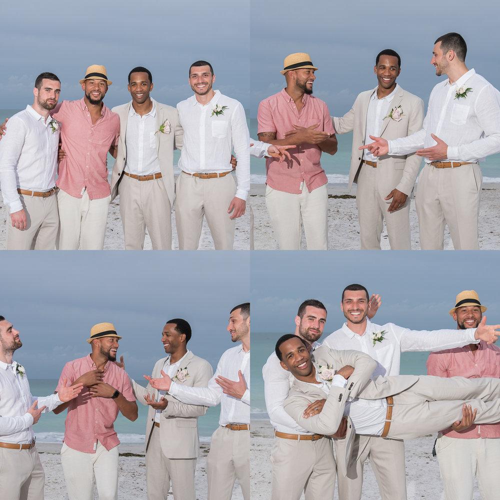 groom-and-groomsmen-photo, beach-wedding-photo