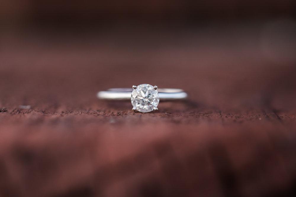 Tampa-engagement-photo, ring-shot