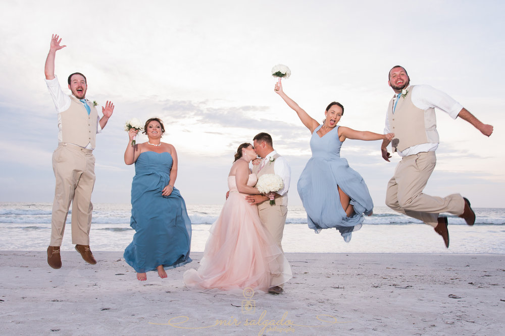 Florida-bridal-party-wedding-photo, beach-wedding-photography