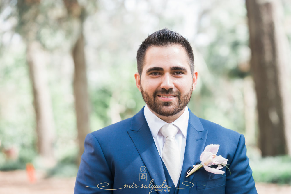Bok-tower-gardens-wedding-ceremony, groom-portrait