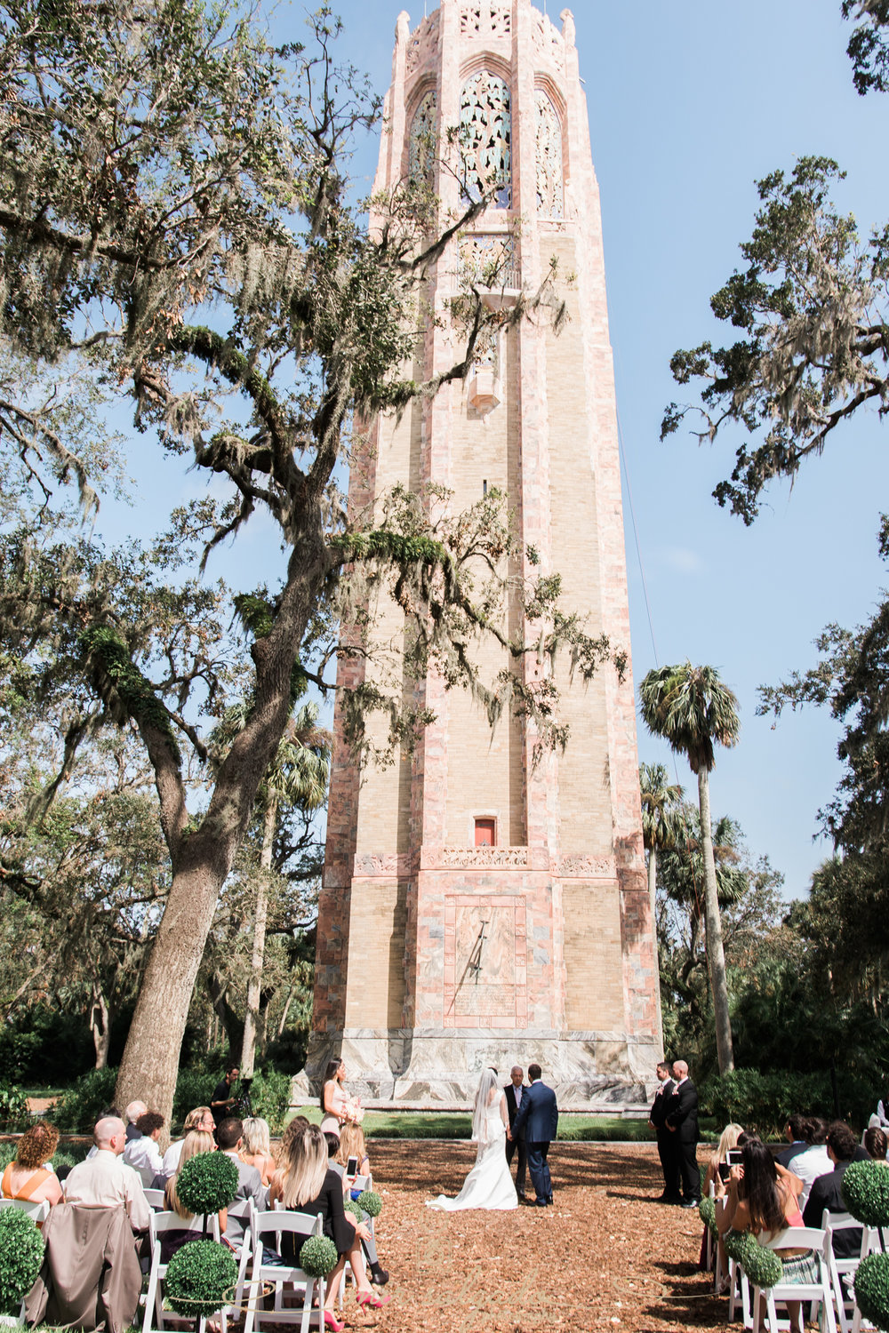 Bok-tower-gardens-wedding-photographer, Bok-tower-gardens-wedding-ceremony-photo