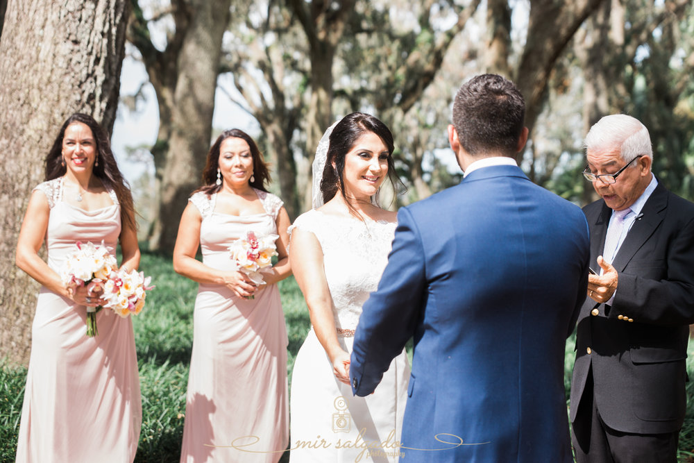 Bok-tower-gardens-wedding-ceremony, Tampa-wedding-photographer