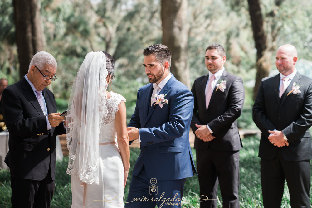 Bok-tower-gardens-wedding-ceremony-photo, Tampa-wedding-photo