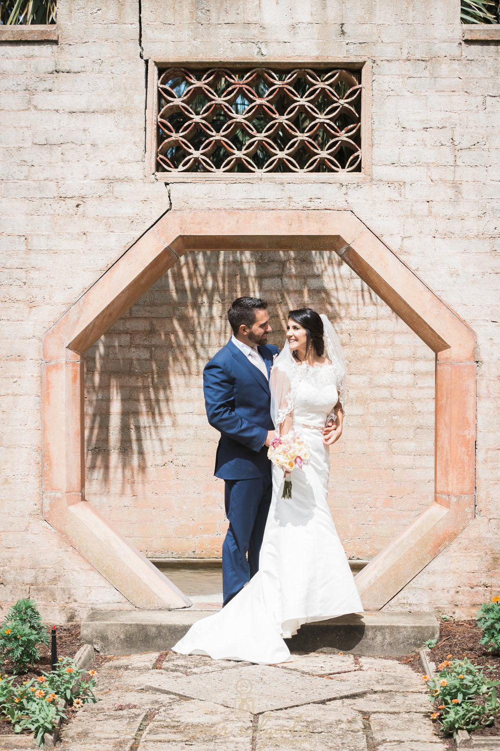 bride-and-groom-portrait, Bok-tower-gardens-wedding-photography