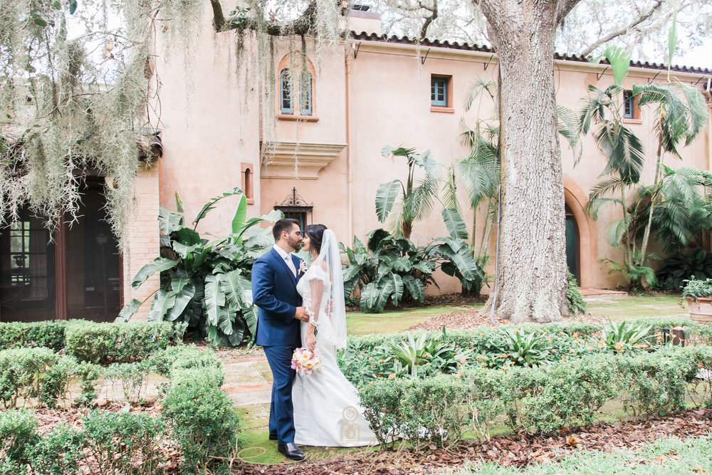 Bok-tower-gardens-wedding-photo, Tampa-wedding-photographer