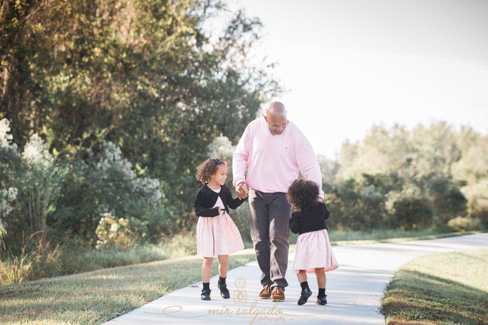 Dad-and-daughters-photo, Tampa-family-photo