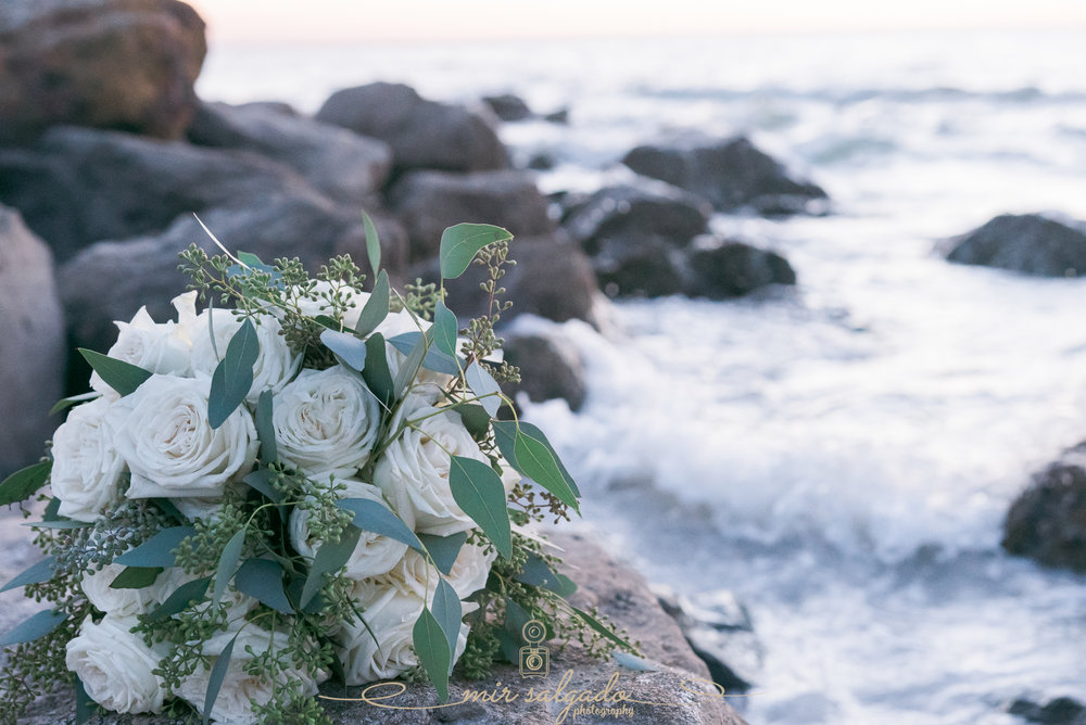 St.Pete-beach-wedding-photo, Florida-beach-wedding, Ring-and-bouquet-photo