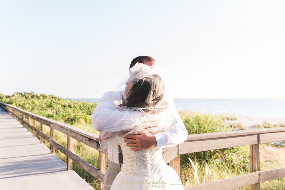 first-look-photo, St.Pete-beach-wedding-photo