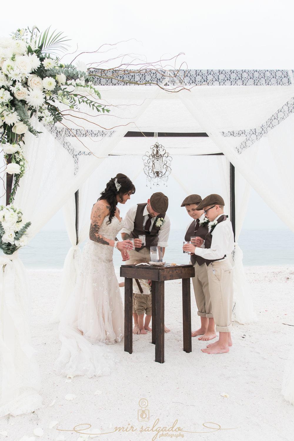 Sand-ceremony-photo, beach-wedding-ceremony