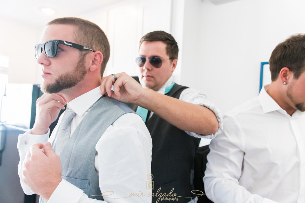 St.Pete-wedding-photographer, groom-getting-ready-photo
