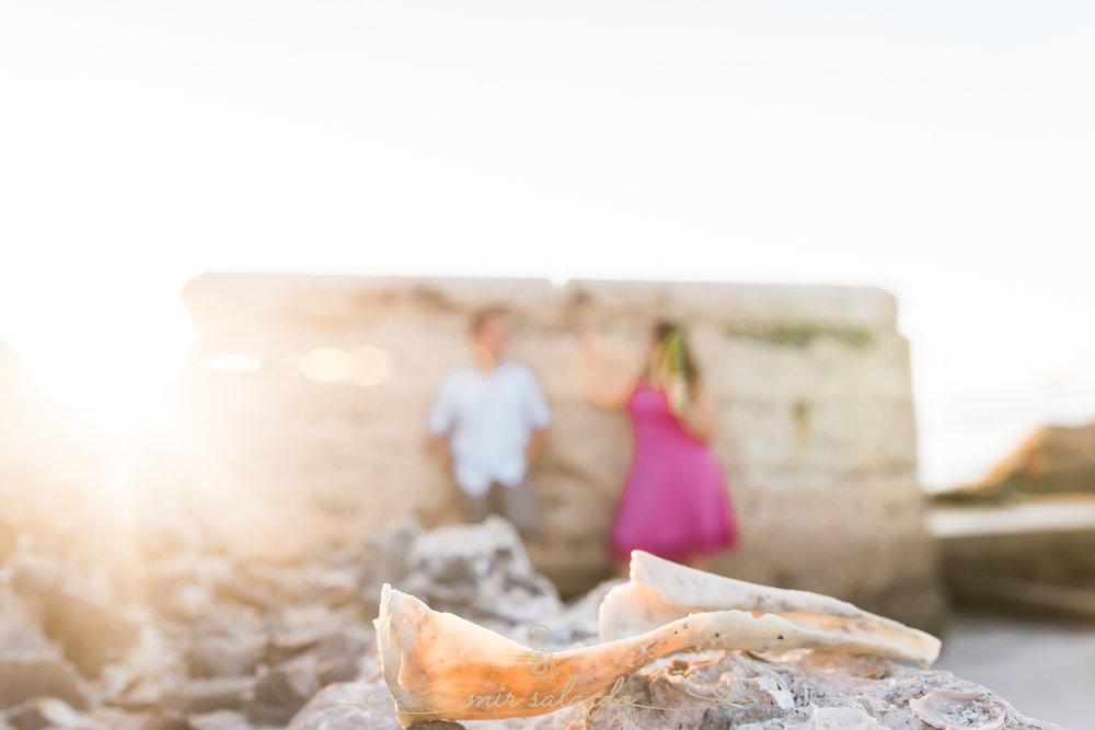 beach-engagement-session, Fort-de-Soto-engagement