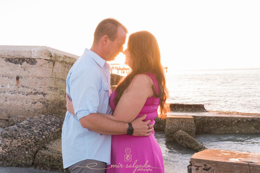 Fort-de-Soto-engagement-session, Tampa-wedding-photographer