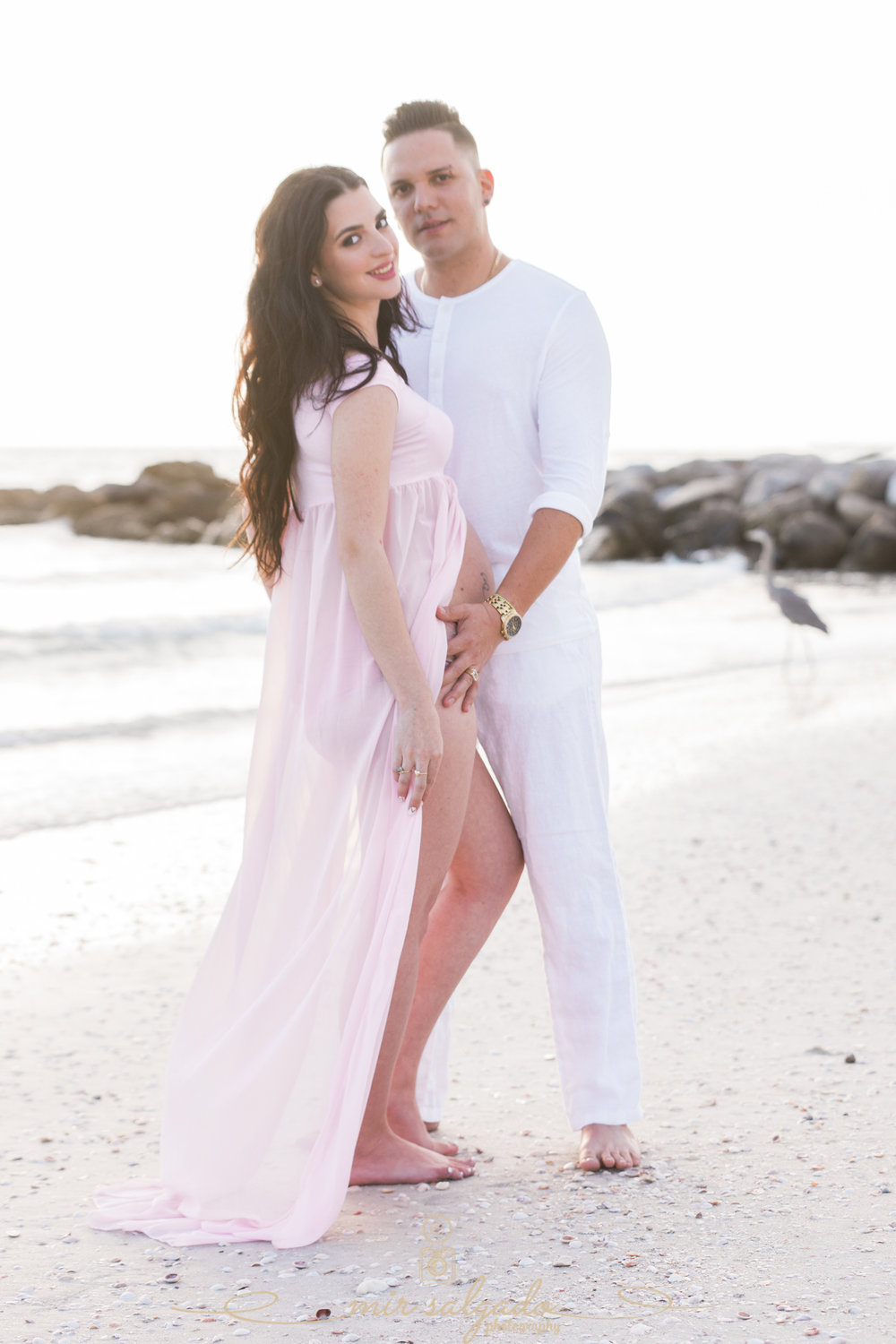 St.Pete-beach-maternity-photo, Florida-beach-maternity-session, Tampa-maternity-photorapher