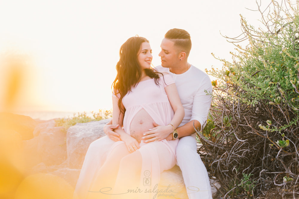 Tampa-maternity-photographer, St.Pete-maternity-session, Florida-beach-maternity-sunset