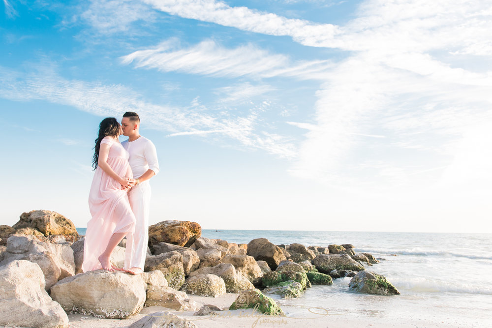 Florida-beach-maternity-session, Tampa-maternity-session