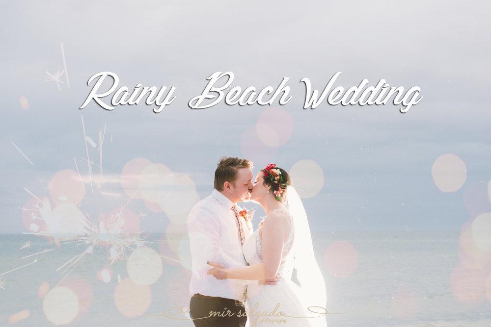 St.Pete-wedding-photo, rainy-beach-wedding