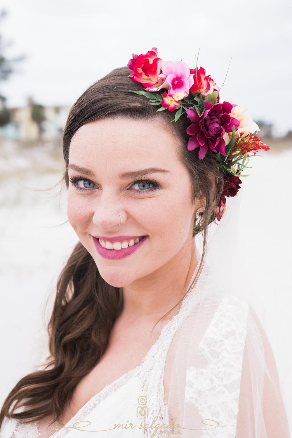 bride-beach-wedding-photo, St.Pete-beach-wedding
