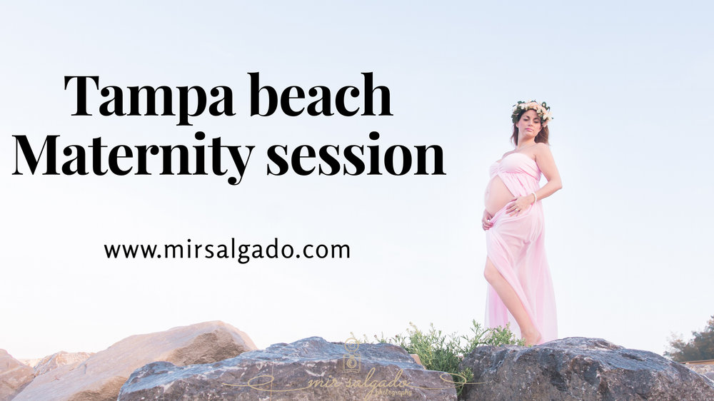 St.Pete-maternity-session, sunrise-beach-maternity-session