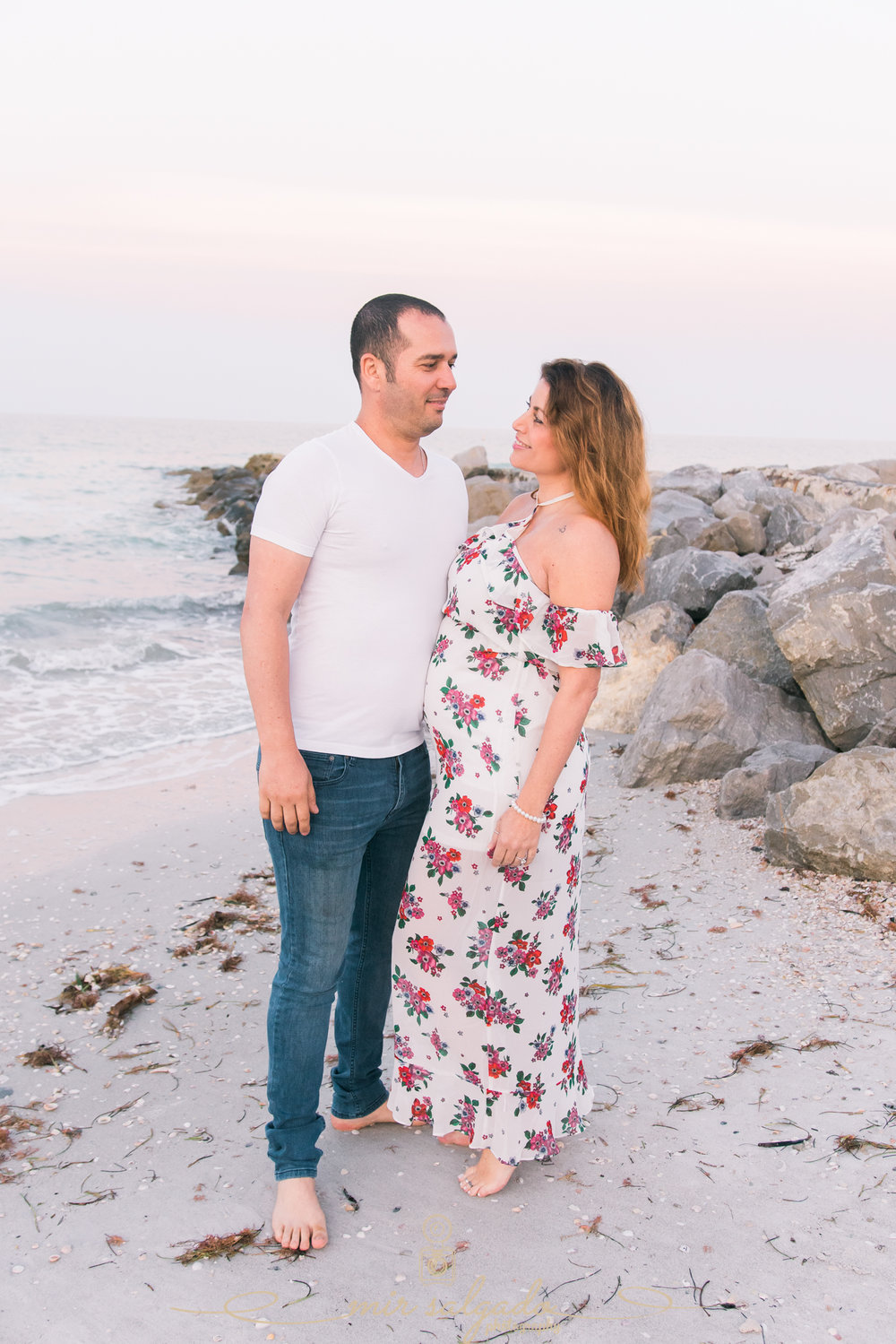 St.Pete-maternity-beach-session, Tampa-maternity-photographer