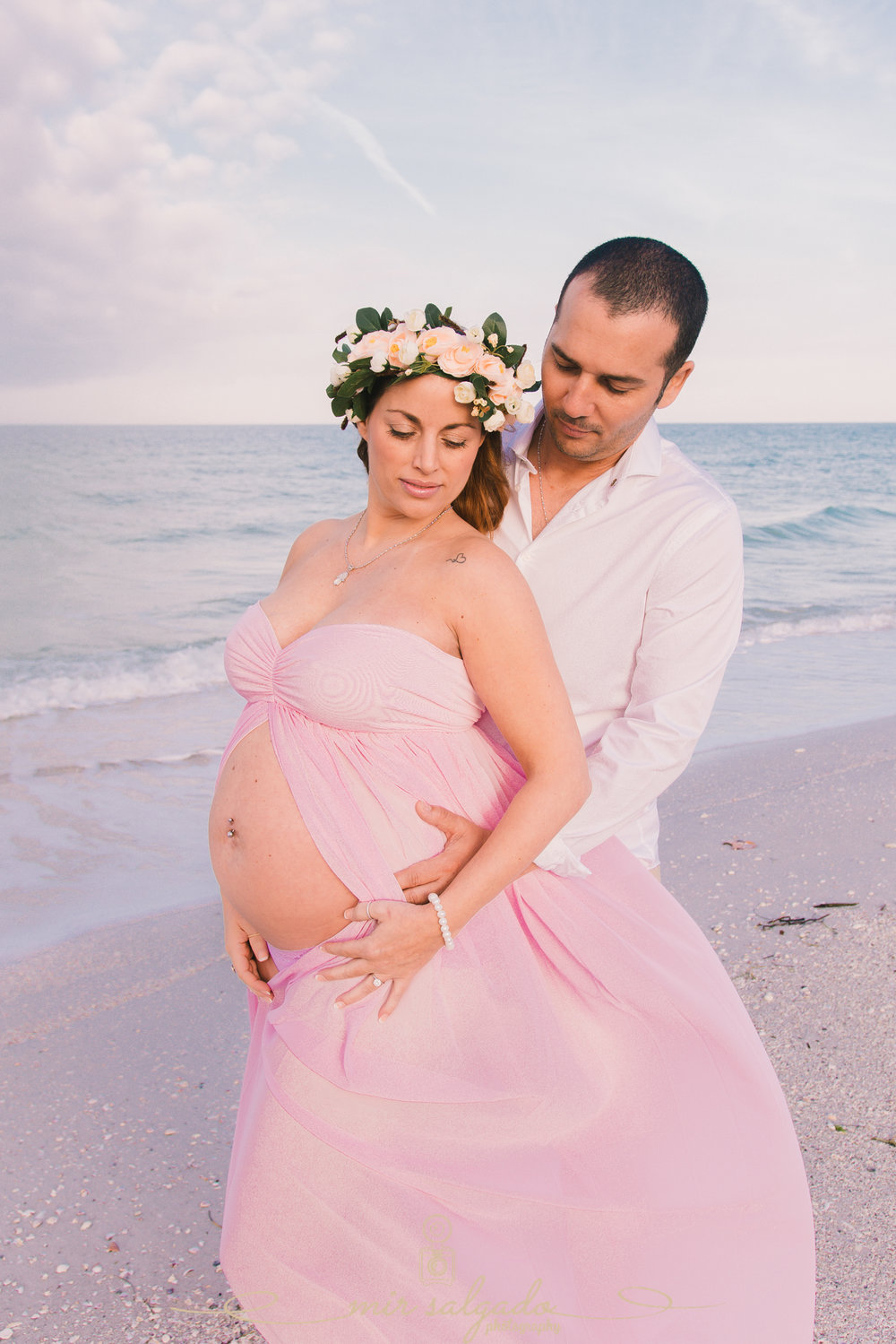 St.Pete-photographer, beach-maternity-photo