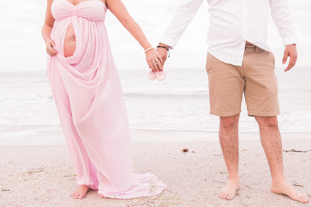 Maternity-beach-session, St.Pete-beach-maternity-photo