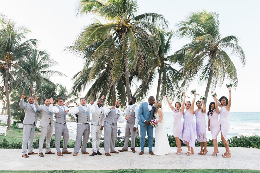 Jamaica-wedding-photo, bridal-party-photo, destination-wedding-photographer