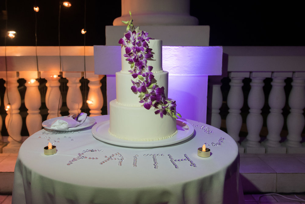 wedding-cake, Montego-bay-wedding-photo