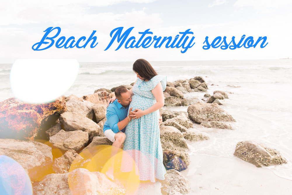 St.Pete-beach-maternity-session, Tampa-maternity-session