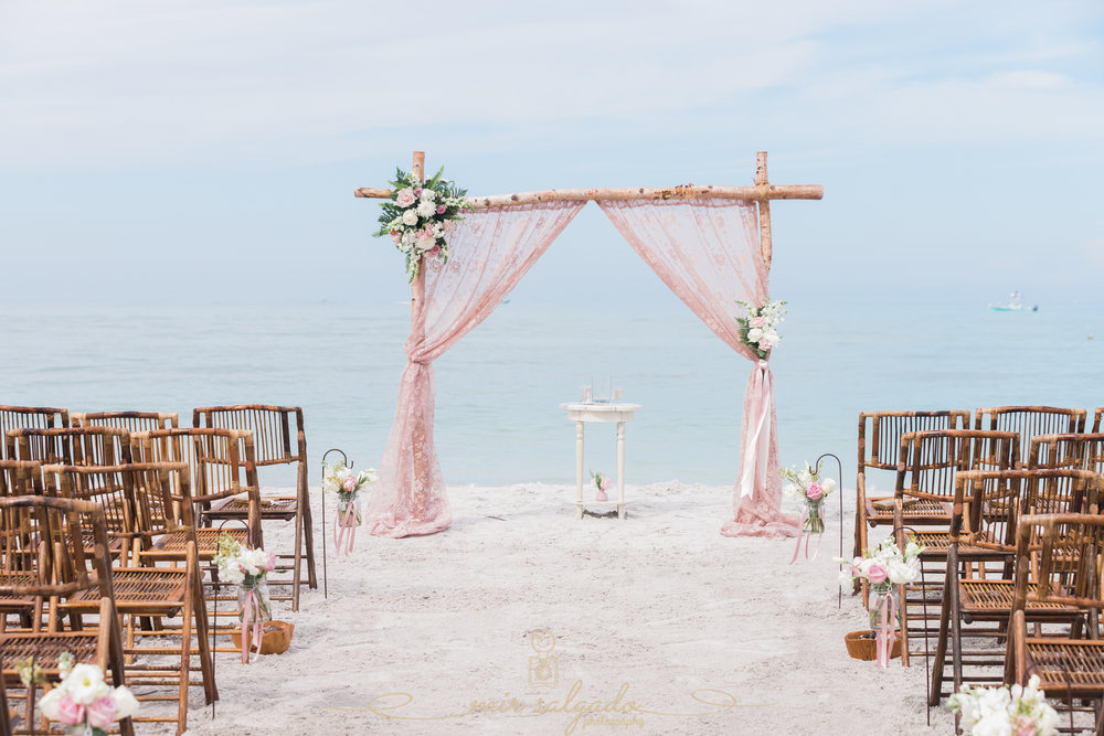 Sarasota-beach-wedding-decoration, Tide-the-knot-beach-weddings, Tampa-photographer