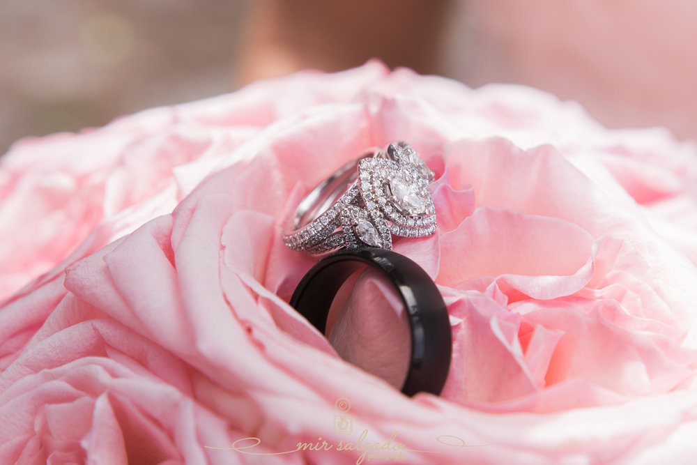 Beach-wedding-photo, rings-photo, Tampa-wedding-photographer
