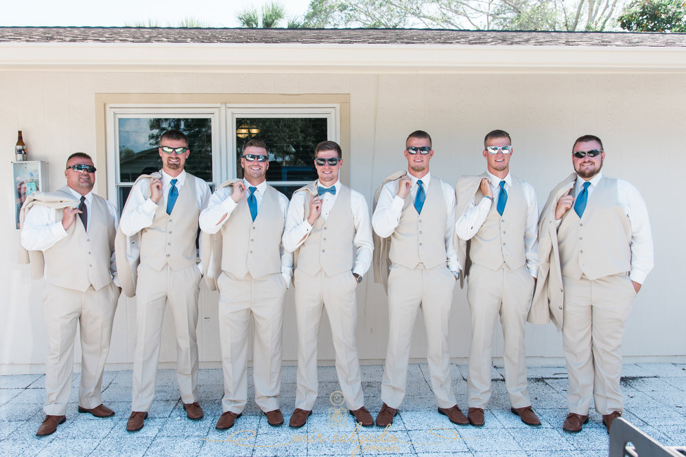 groom-and-groomsmen-photo, Florida-wedding-photo