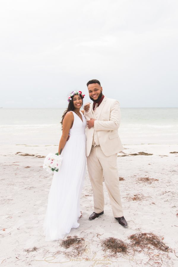Fort-De-Soto-beach-pictures-flowers-flower-crown-wedding-dress-tampa-photography,