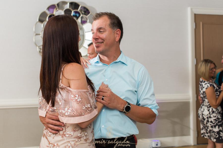 reception-dancing-couple, Hyatt-clearwater-beach-resort-spa, Tampa-wedding-photographer