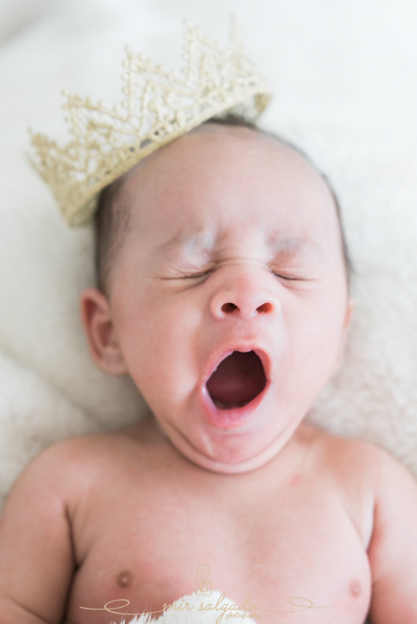 Yawning Little Prince