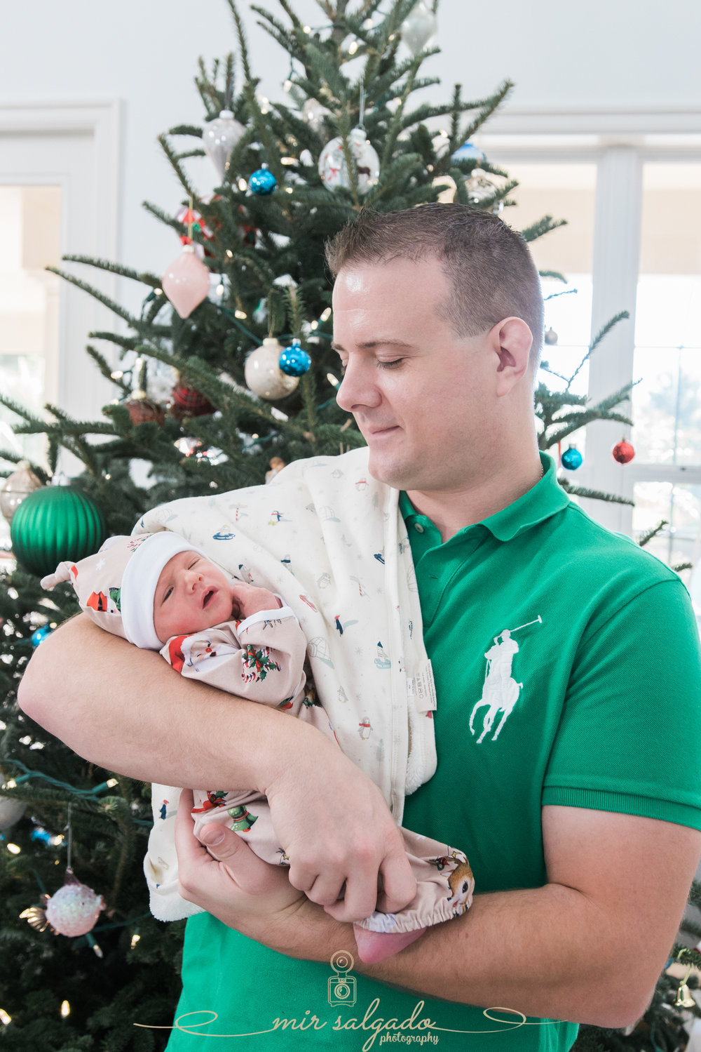 family-christmas-session, tampa-christmas-session, father-and-son-christmas-session