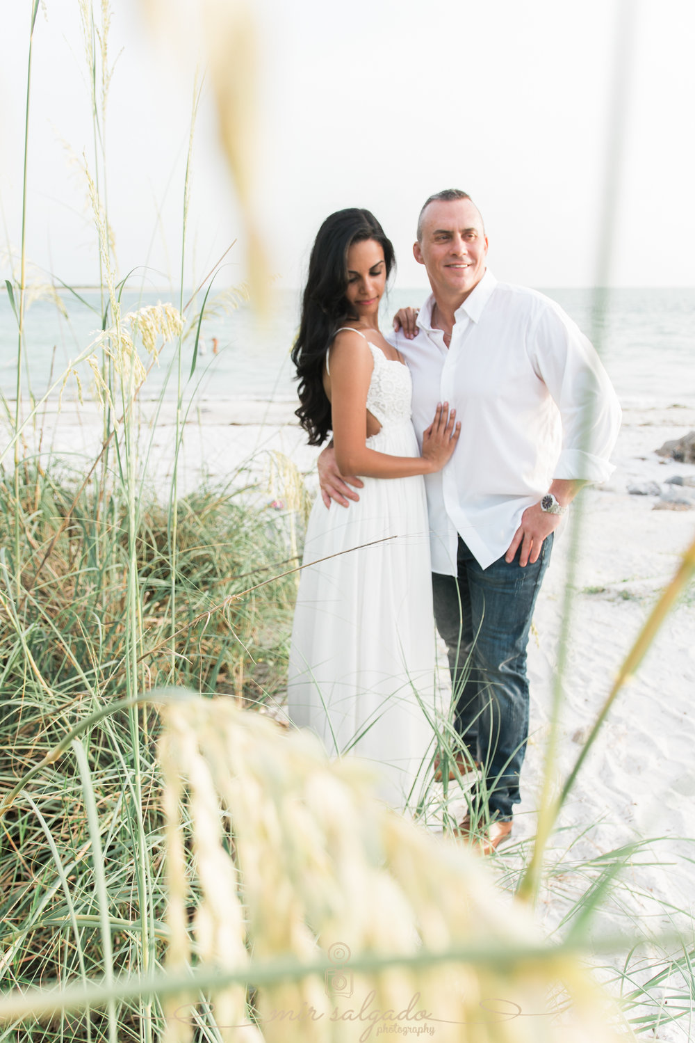 beach-engagement-photoshoot, florida-beach-engagement, tampa-wedding-photographer