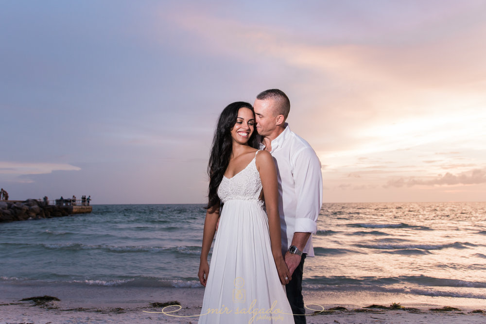 pass-a-grille-engagement-photo-shoot, sunset-beach-engagement-pictures, tampa-wedding-photographer