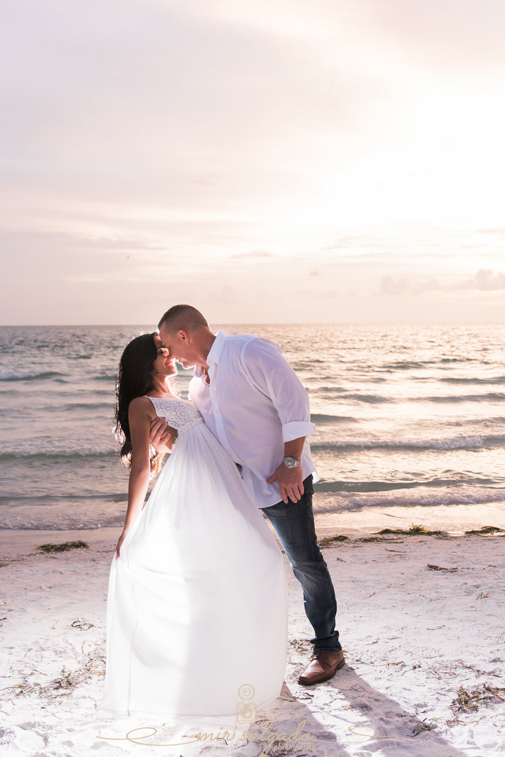 sunset-pass-a-grille-beach-engagement, tampa-sunset-beach-pictures, tampa-wedding-photographer