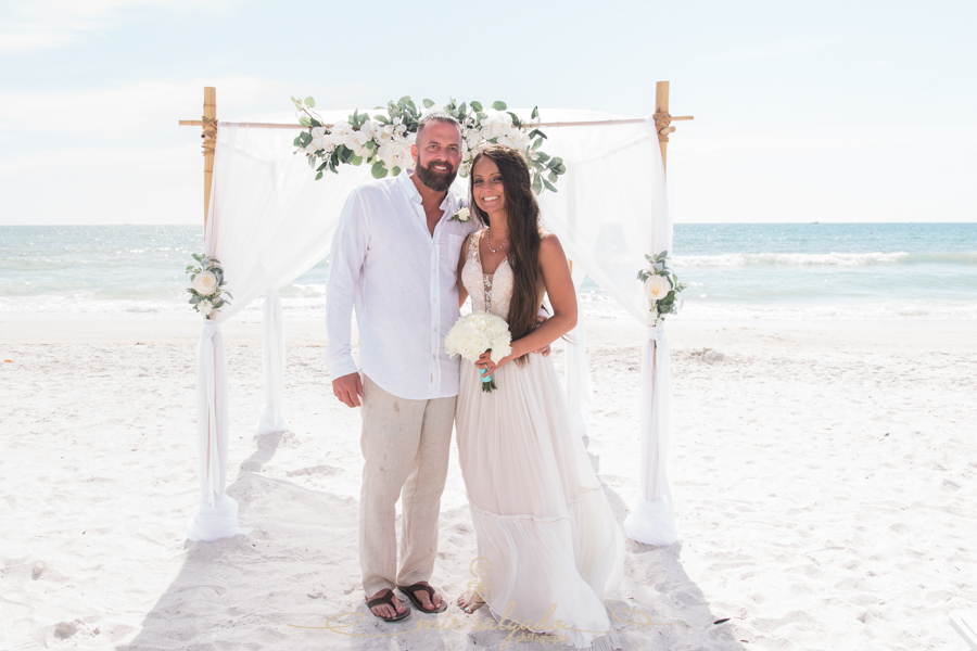 St.Pete-beach-wedding, Florida-beach-wedding-photo