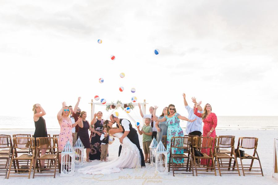 Florida-beach-wedding, beach-balls, Tampa-wedding-photographer
