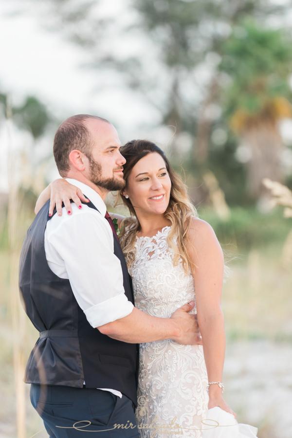 Bride-and-groom-wedding-photo, Beach-wedding-photographer, Tampa-weddings