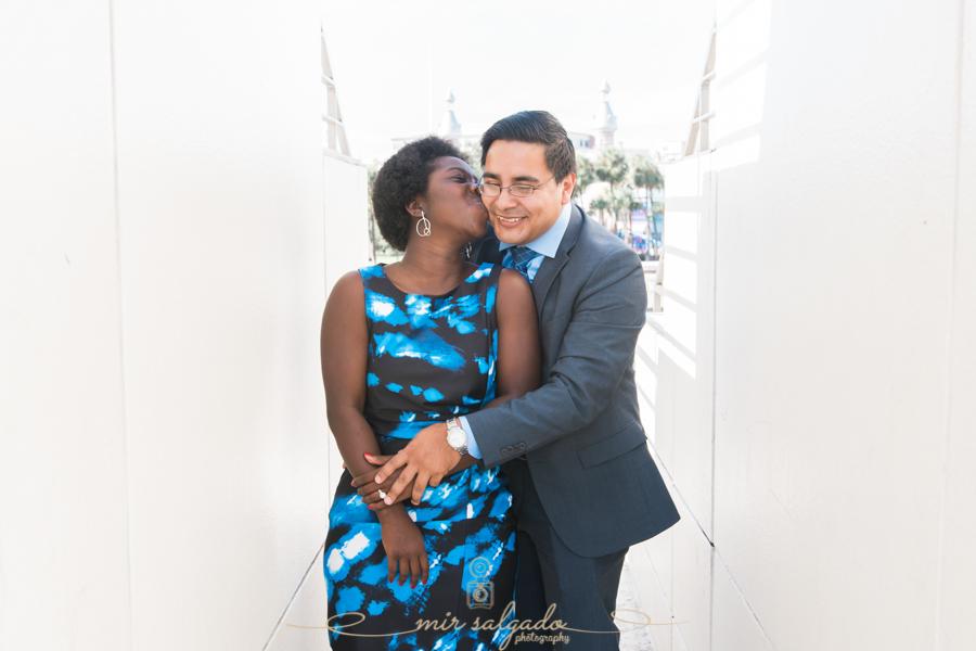 Tampa engagement session , Curtis Hixon Park | Kou & Dany engagement session